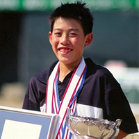 Nishikori won the 2001 title at Elementary School National Championships